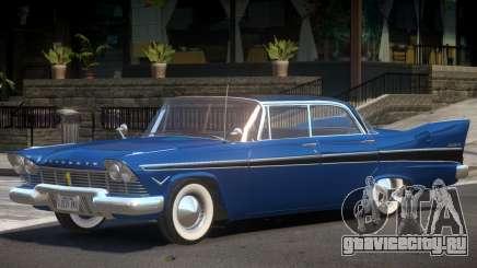 1957 Plymouth Belvedere для GTA 4