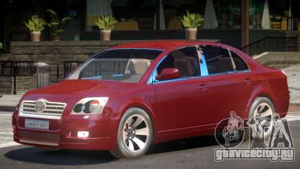 Toyota Avensis V1.0 для GTA 4