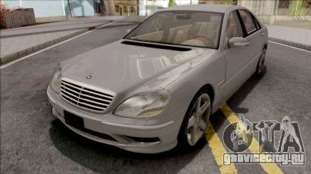 Mercedes-Benz W220 S55 AMG для GTA San Andreas