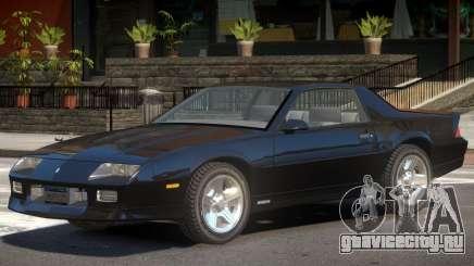 1990 Chevrolet Camaro V1.0 для GTA 4
