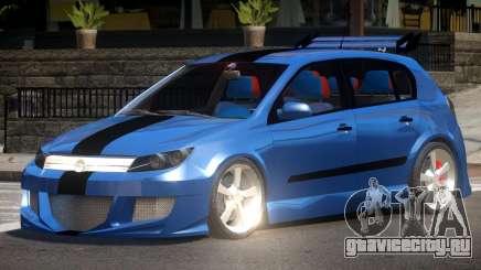 Opel Astra Custom для GTA 4