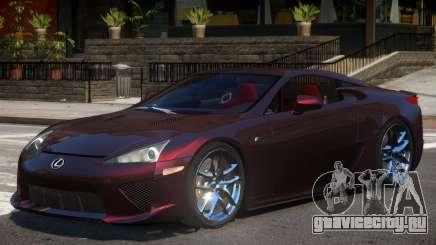 Lexus LFA V1.2 для GTA 4