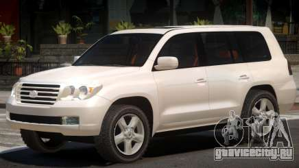 Toyota Land Cruiser 200 V1.0 для GTA 4