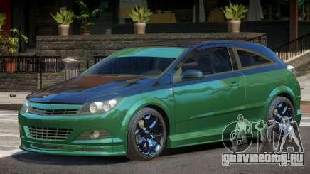 Opel Astra Tuned для GTA 4