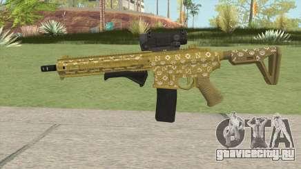 Carbine Rifle GTA V (ILL Cammo) для GTA San Andreas