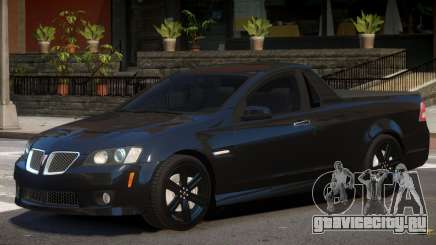 Pontiac G8 Tuned для GTA 4
