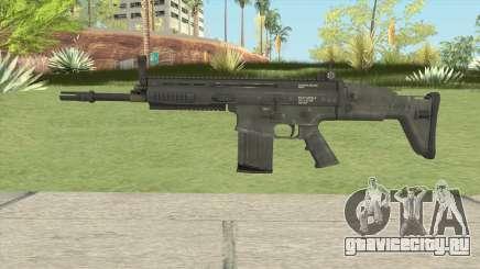 SCAR-H Black для GTA San Andreas