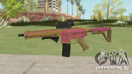 Carbine Rifle GTA V (Leopardo Rosa) для GTA San Andreas