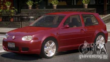 Volkswagen Golf 4 Y1 для GTA 4