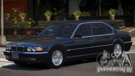 BMW 750iL E38 V1.0 для GTA 4