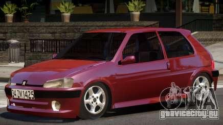 Peugeot 106 V1.0 для GTA 4