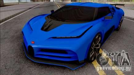 Bugatti Centodieci EB110 2020 Milestone для GTA San Andreas