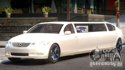 Lexus GS450 Limo для GTA 4
