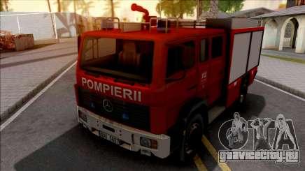 Mercedes-Benz 1222 LF 16-12 Pompierii для GTA San Andreas
