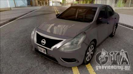 Nissan Almera 2013 SA Style для GTA San Andreas