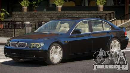 BMW 760i V1 для GTA 4