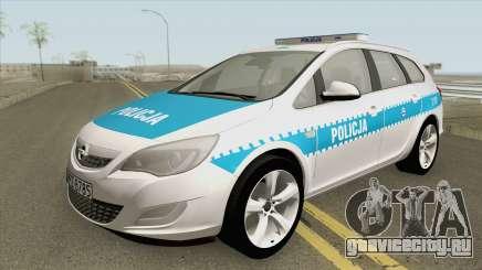 Opel Astra J (Policja KSP) для GTA San Andreas