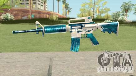 M4A1 (Winter Warrior) для GTA San Andreas