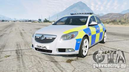 Vauxhall Insignia British Police для GTA 5