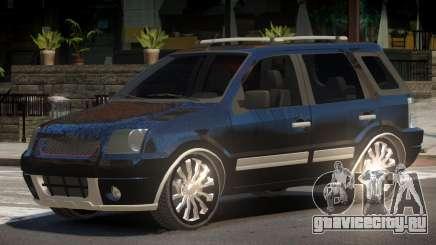 Ford EcoSport V1.0 для GTA 4