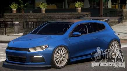 Volkswagen Scirocco Custom для GTA 4