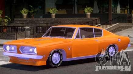 Plymouth Barracuda V1.0 для GTA 4