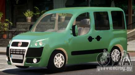 Fiat Doblo V1.0 для GTA 4