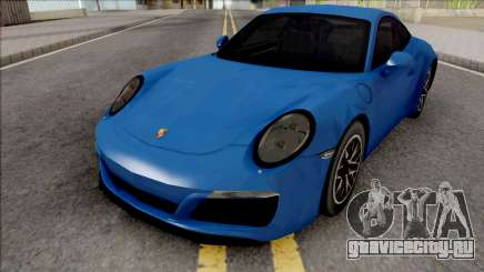 Porsche 911 (991.2) Carrera S 2017 SA Style для GTA San Andreas