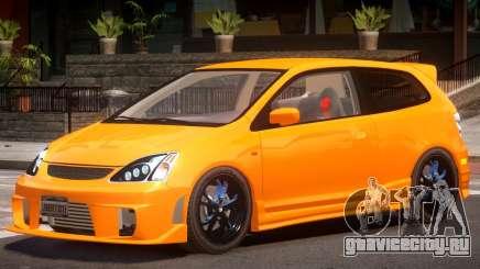 Honda Civic Type R Y5 для GTA 4