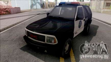 GMC Jimmy 2001 Police для GTA San Andreas