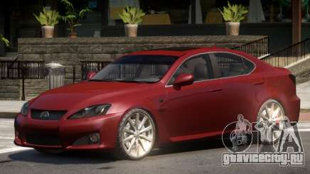 Lexus IS Comfortable для GTA 4