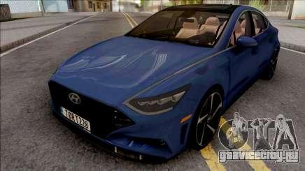 Hyundai Sonata Turbo 2020 для GTA San Andreas