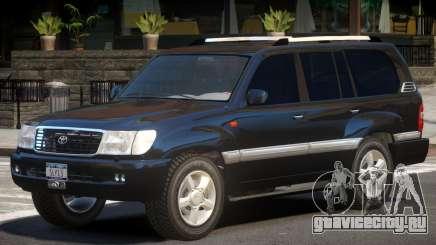 Toyota Land Cruiser 100 V1.0 для GTA 4