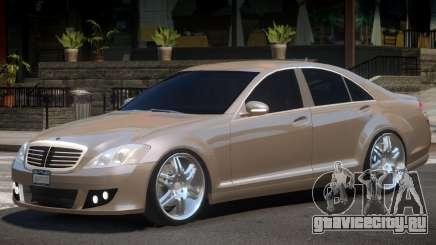 Mercedes Benz W221 Brabus для GTA 4