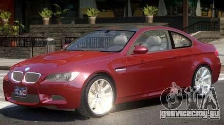 BMW M3 E92 Y07 для GTA 4