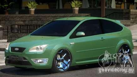 Ford Focus Stock для GTA 4