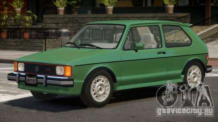 1986 Volkswagen Rabbit для GTA 4