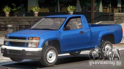 Chevrolet Colorado Y05 для GTA 4