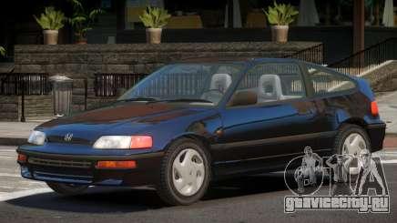 1992 Honda CRX V1.3 для GTA 4