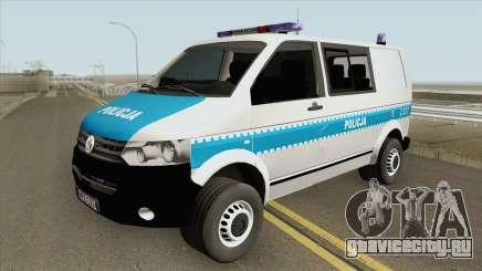 Volkswagen Transporter T6 (Policja KSP) для GTA San Andreas
