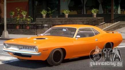 1970 Plymouth Barracuda для GTA 4
