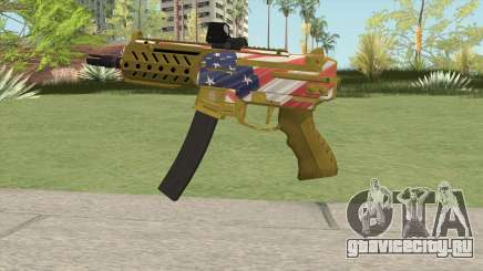 SMG MK II GTA V (Custom Version) для GTA San Andreas