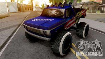 New Monster Truck для GTA San Andreas