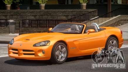 Dodge Viper Spider для GTA 4