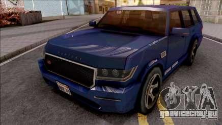 Vapid Huntley V8 Sport VR 4.8i 2016 Low Poly для GTA San Andreas