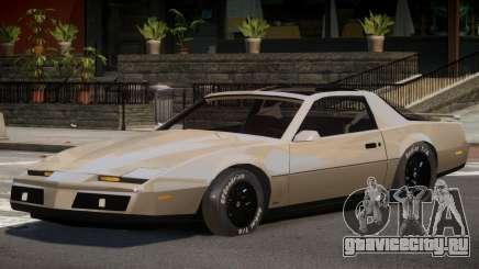 1982 Pontiac Trans Am для GTA 4
