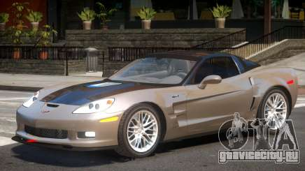 Chevrolet Corvette ZR1 V1.3 для GTA 4