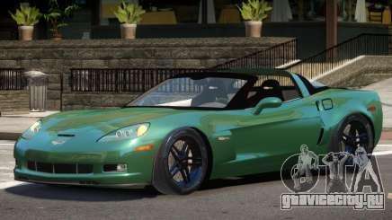 Chevrolet Corvette Z06 Spider для GTA 4