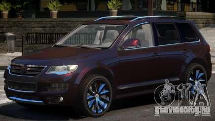 Volkswagen Touareg Tuned для GTA 4