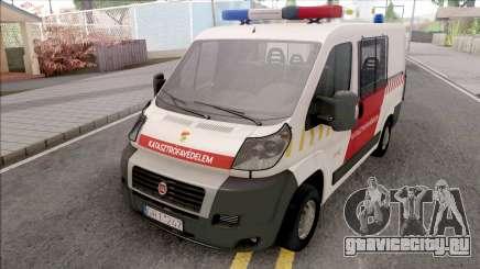 Fiat Ducato Katasztrofavedelem для GTA San Andreas
